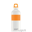 Gertuvė SIGG CYD Pure White Touch Orange, 0,6 l
